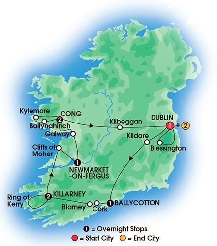 10 Day Irish Supreme Tour