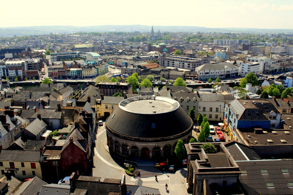 Love Irish Tours - Cork City Aerial, Ireland