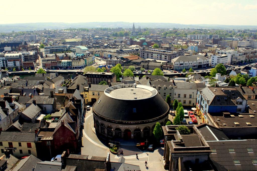 Love Irish Tours - Cork City Aerial, Ireland
