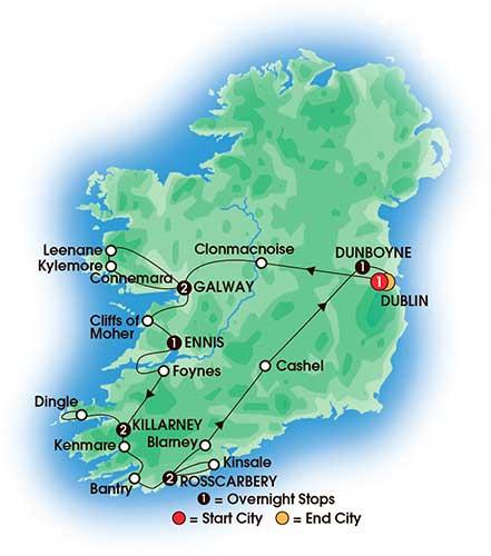 10 Day Elegant Ireland - Large Coach Tours - Love Irish Tours