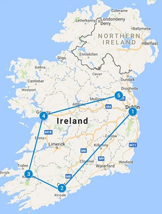 PRIVATE TOUR 6 Day Legendary Ireland