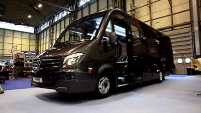 29 Seater Luxury Vehicle and there are only 16 people on each tour date