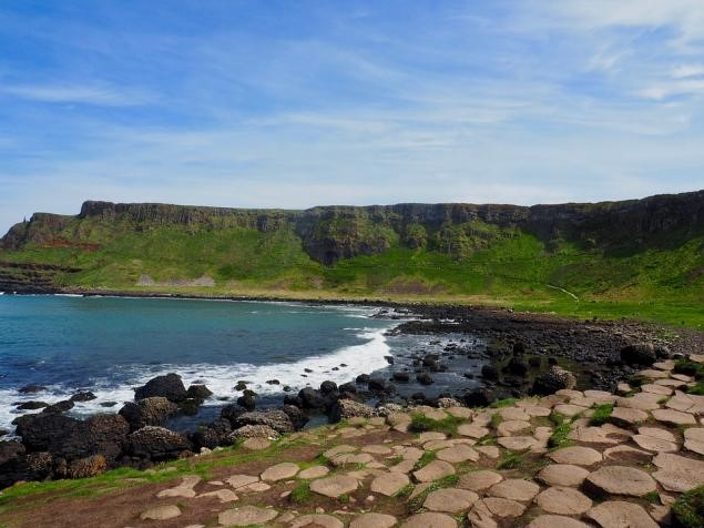 Causeway Coastal Route in Northern Ireland