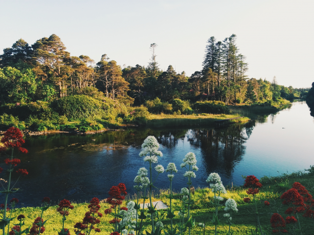 Ballynahinch Castle Grounds, Connemara, West Ireland