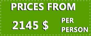 8 Day Irish Spirit price tag