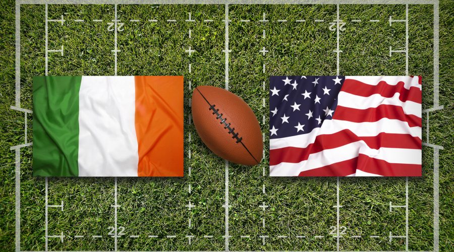 American College Football – Navy vs Notre Dame, Ireland 2020