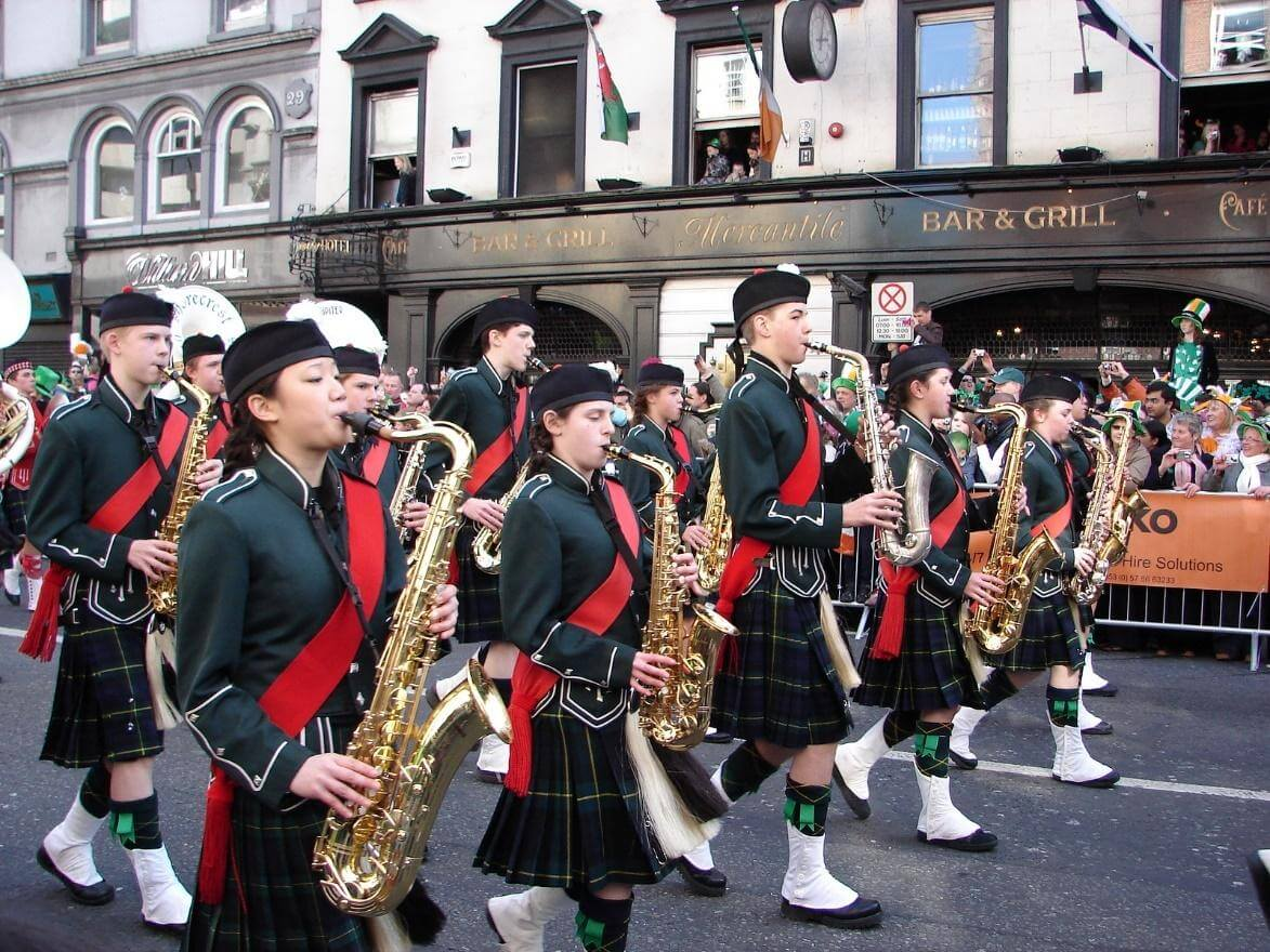 musicians in Dublin, Ireland