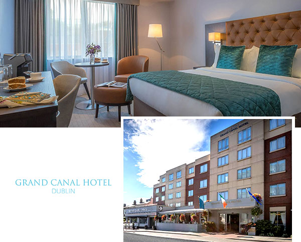 Grand Canal Hotel Dublin front