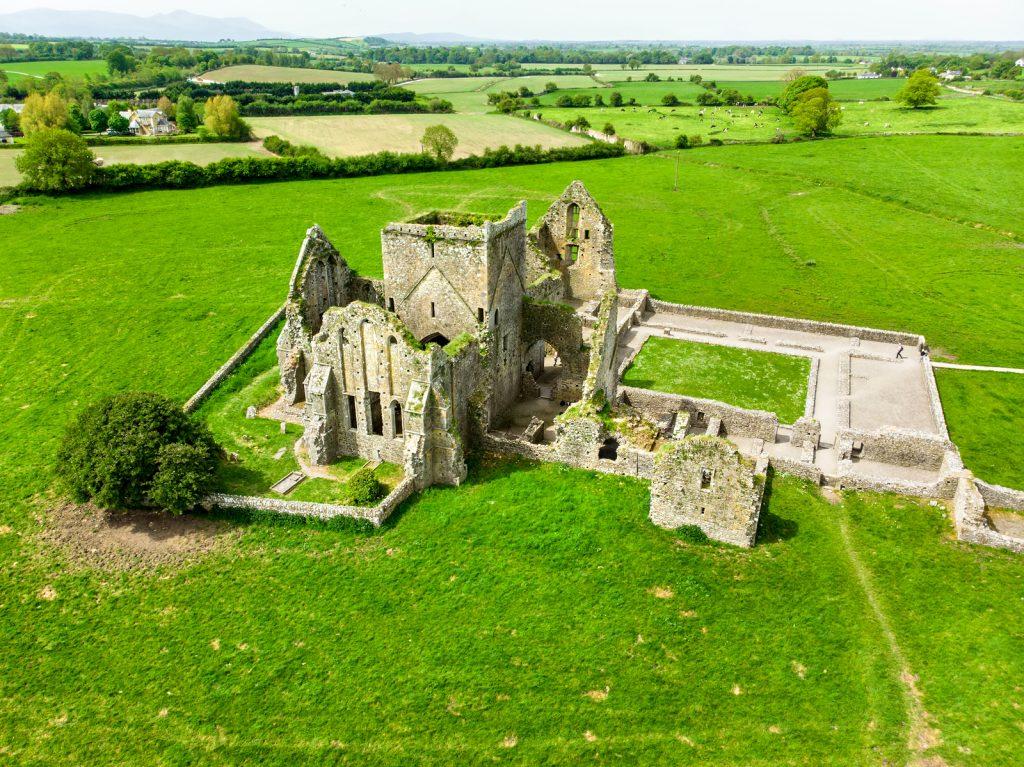 Hore Abbey, Ruined Cistercian Monastery Near The Rock Of Cashel,