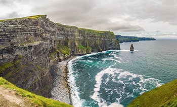 The Cliffs of Moher and the Stack