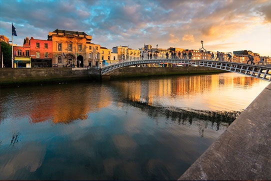 Dublin River Liffey, Ireland