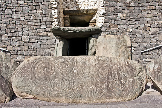 Newgrange World Heritage Site, Dublin, Ireland