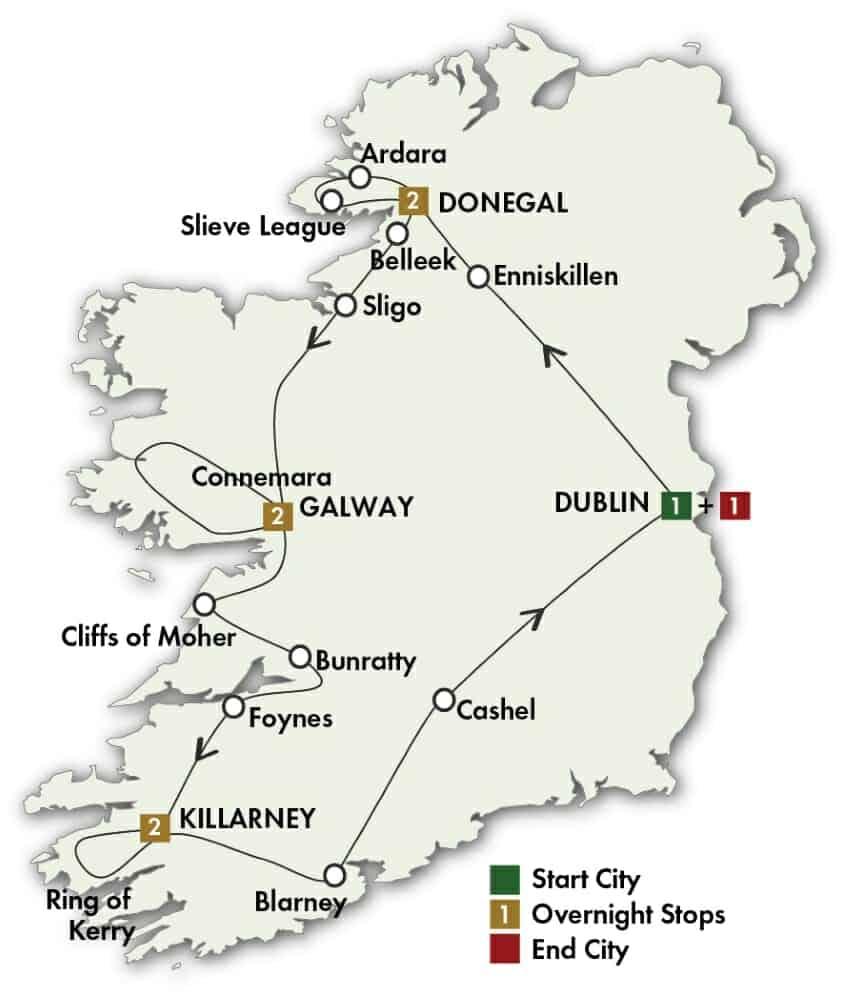 9 Day Irish Explorer
