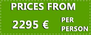 10 Day Loop of Ireland Tour 2021 price tag in euros